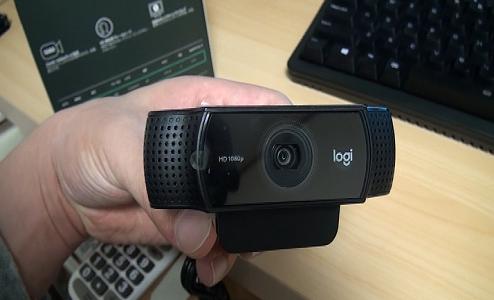 ウェブカメラ買ってみました。logicool C922n